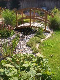 download gartenteich mit brucke und bachlauf | lawcyber, Gartengestaltung